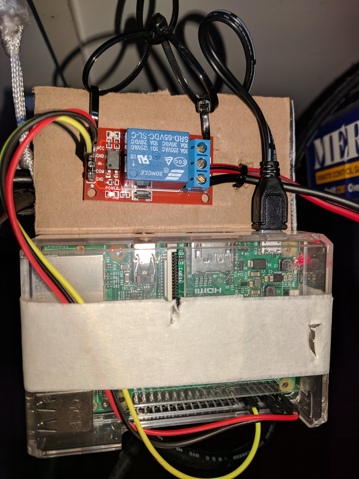 Raspberry PI Garage Opener